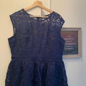 NWT 💡 GORGEOUS Blue Lace Dress